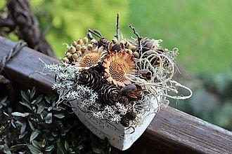 Dekorácie - Prírodná krabička - 10725933_