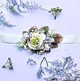 Opasky - Kvetinový opasok - 10725617_