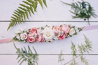 Opasky - Kvetinový opasok - 10725653_