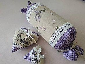 Úžitkový textil - Vankúš cukrik - 10725055_