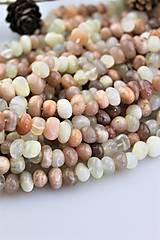 - mesačný kameň korálky 8-12mm cena za 10ks! - 10725250_