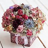 Kvetinová krabička ... vôňa kvietkov ...