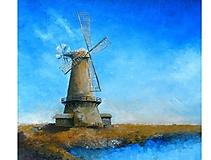 Obrazy - Veterný mlyn - 10725283_