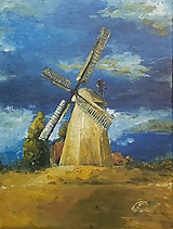 Obrazy - Veterný mlyn II - 10725335_