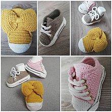 Topánočky - Štýlové mini tenisky - 10725532_