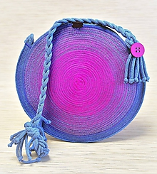 Kabelky - Kulatá mandalka / kabelka na rameno 1979 - 10723939_