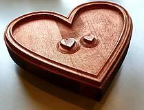 Grafika - Drevorezba Srdiečka zo srdca :) - 10725716_