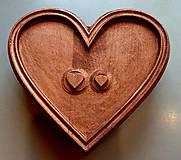 Grafika - Drevorezba Srdiečka zo srdca :) - 10725717_