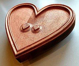 Grafika - Drevorezba Srdiečka zo srdca :) - 10725715_