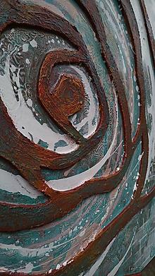 Obrazy - Hrdzavá ruža 100x80cm - 10725891_