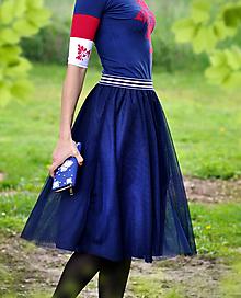 Sukne - Tutu sukňa Scarlett modrá - 10724579_