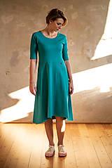 Šaty - Šaty Klasik (L - Šafránová) - 10724894_