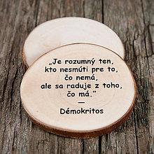 Magnetky - Magnetka - citát - Je rozumný... - 10723657_