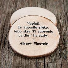 Magnetky - Magnetka - citát - Neplač... - 10723673_