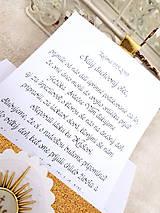 Papiernictvo - Kartička na prvé sväté prijímanie