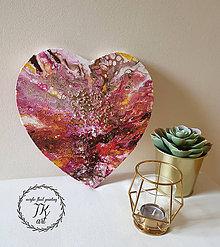 Obrazy - Láska v srdci - 10725114_