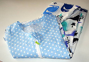Textil - letný vak na spanie - 10724682_