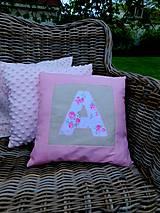 Úžitkový textil - ANETKA, sada 3 obliečok na vankúše - 10724105_
