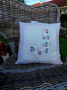 Úžitkový textil - Jasmínka z béžového domčeka, návlečka na vankúš 35 x 35 cm - 10726205_