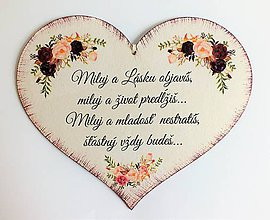 Drobnosti - Srdce svadobné II. - 10726738_