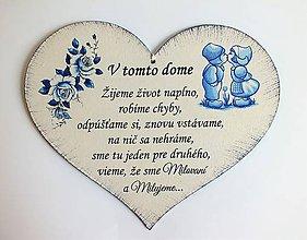 Drobnosti - Srdce - V TOMTO DOME - 10726779_