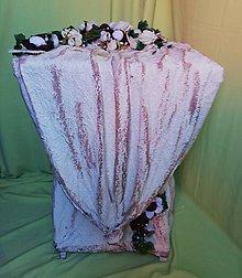 Dekorácie - Romantický stôl - 10726063_