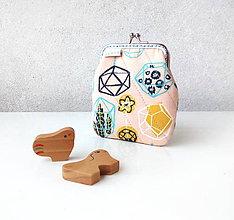 Peňaženky - Peňaženka Miniskleníčky - 10724413_