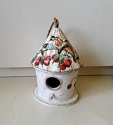 Pre zvieratká - búdka vtáčiky na čerešni - 10726472_