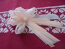 Pierka - Svadobné pierko pre rodičov a prvého družbu - 10725657_