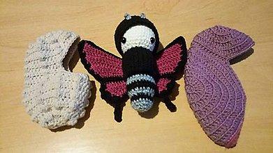 Hračky - Cyklaménový motýľ - vývoj - 10726108_