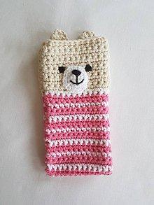 Na mobil - Ružový macko - 10726392_