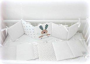 Textil - Mantinel do postieľky 280x25cm BUNNY - 10728001_