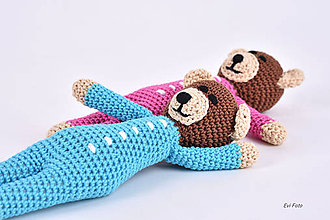 Hračky - pyžamkový spinkošík - 10729476_