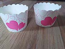 Iné doplnky - Papierové košíčky na muffiny - 10727202_