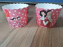 Iné doplnky - Papierové košíčky na muffiny - 10727206_