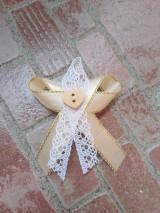 Pierka - Svadobné pierka čipkove - 10727218_