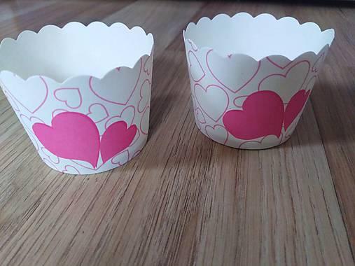 Papierové košíčky na muffiny