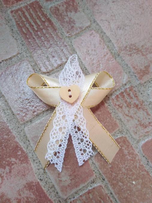 Svadobné pierka čipkove