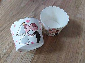 Iné doplnky - Papierové košíčky na muffiny - 10727213_