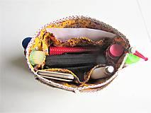 Taštičky - Organizer do kabelky žltý - 10727418_
