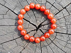 Náramky - red karneola-karneol-náramok - 10730313_