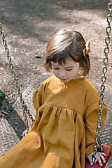 Detské oblečenie - Šaty IDA škoricové - 10727810_