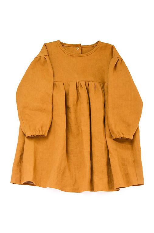 Šaty IDA škoricové