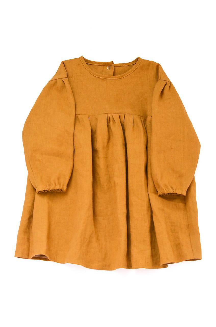 Šaty IDA horčicové