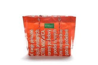 Veľké tašky - Úsmev ako dar: DORKA bag edícia VÚB III. - 10728923_