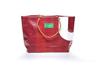 Veľké tašky - Úsmev ako dar: DORKA bag edícia VÚB III. (VUB27) - 10728924_