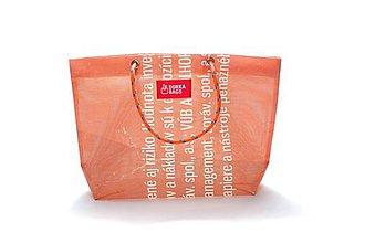 Veľké tašky - Úsmev ako dar: DORKA bag edícia VÚB V. (VUB52) - 10729004_