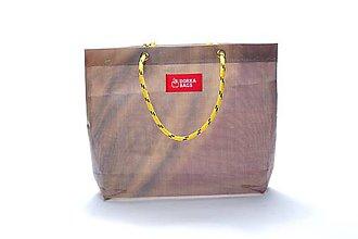 Veľké tašky - Úsmev ako dar: DORKA bag edícia VÚB VI. - 10729028_