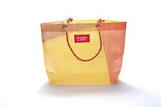 Veľké tašky - Úsmev ako dar: DORKA bag edícia VÚB IX. (VUB99) - 10729116_