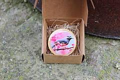 Odznaky/Brošne - Brošňa vtáčik - 10729421_
